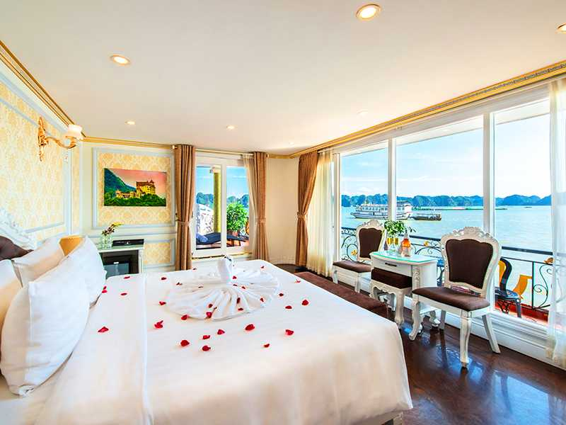 Dynasty Suite Balcony - 2 Pax/ Cabin (Location: 1st & 2nd Deck - Private Balcony