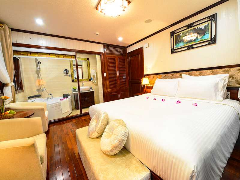 Premium Single Cabin - 1 Pax/ Cabin (Location: 2nd Deck - Sea View)