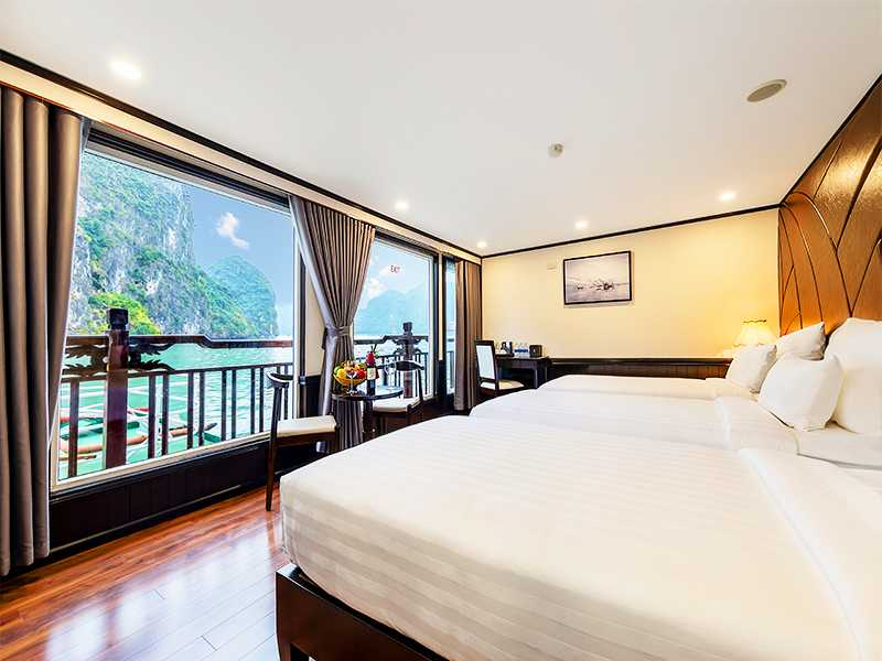 Suite Terrace - 2 Pax/ Cabin (Location: 3rd Deck - Private Terrace)